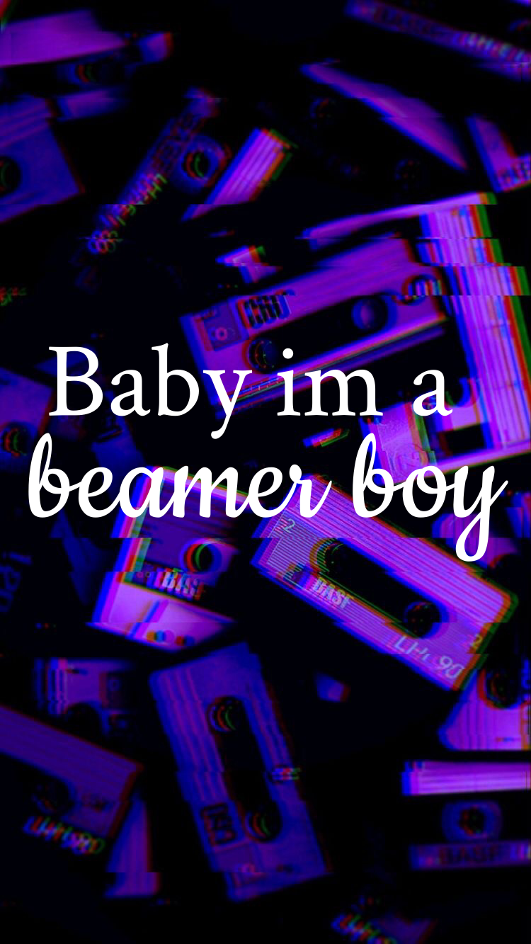 Lil Peep Beamer Boy Wallpaper Lil Peep Lyrics Violet Aesthetic