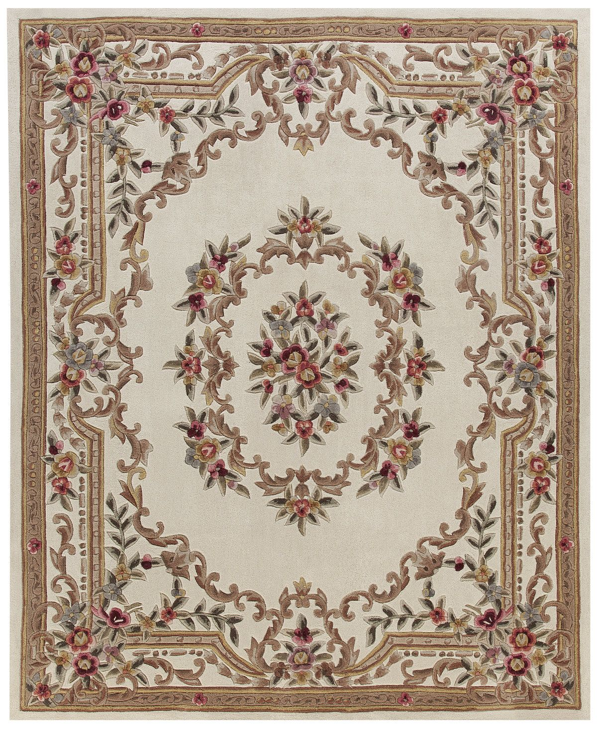 Dynasty Aubusson 7 6 X 9 6 Area Rug Created For Macy S Area Rug