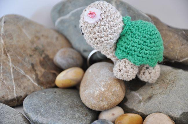 Amigurumi Schemi Italiano Gratis : Come fare portachiavi a forma di tartaruga amigurumi. lo schema
