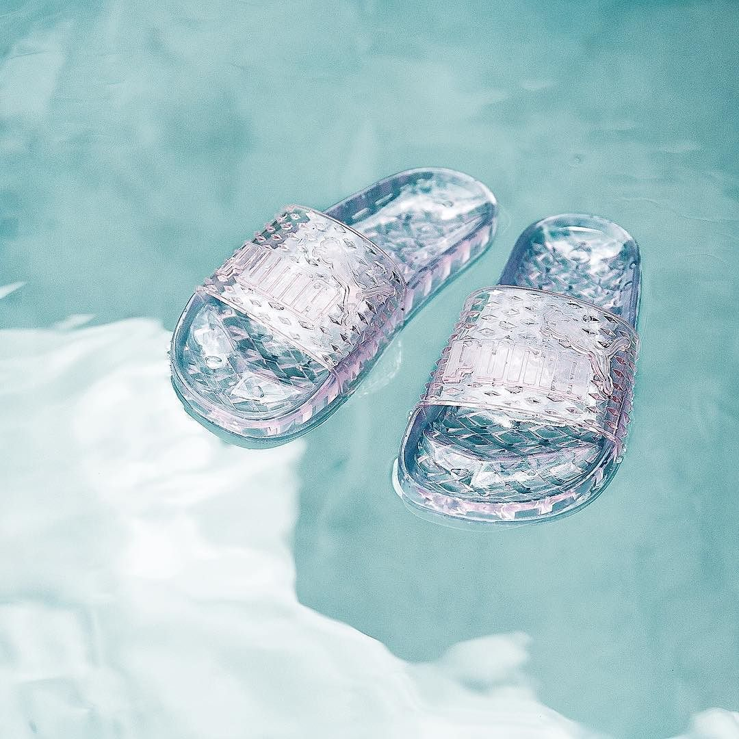 Summer ready with these new  puma jelly slides  FENTYxPUMA  ad  7b8c533d4746