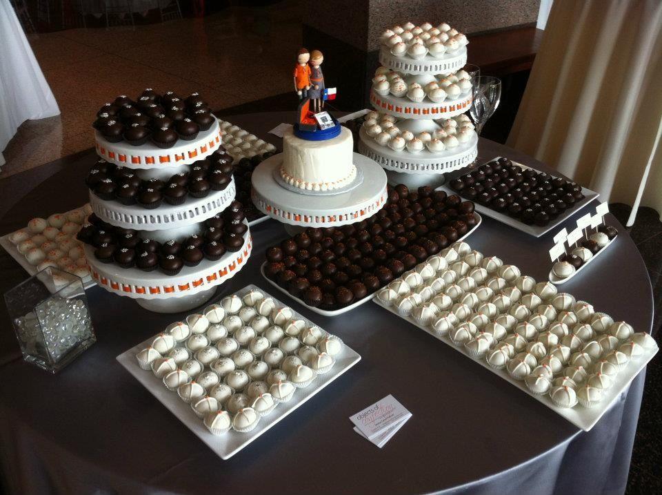 Wedding Cake Ball Display