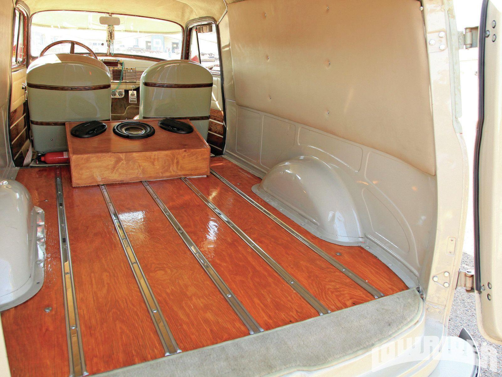 1951 Chevy Panel Truck 02 1951 Chevrolet Panel Truck Wood Panel
