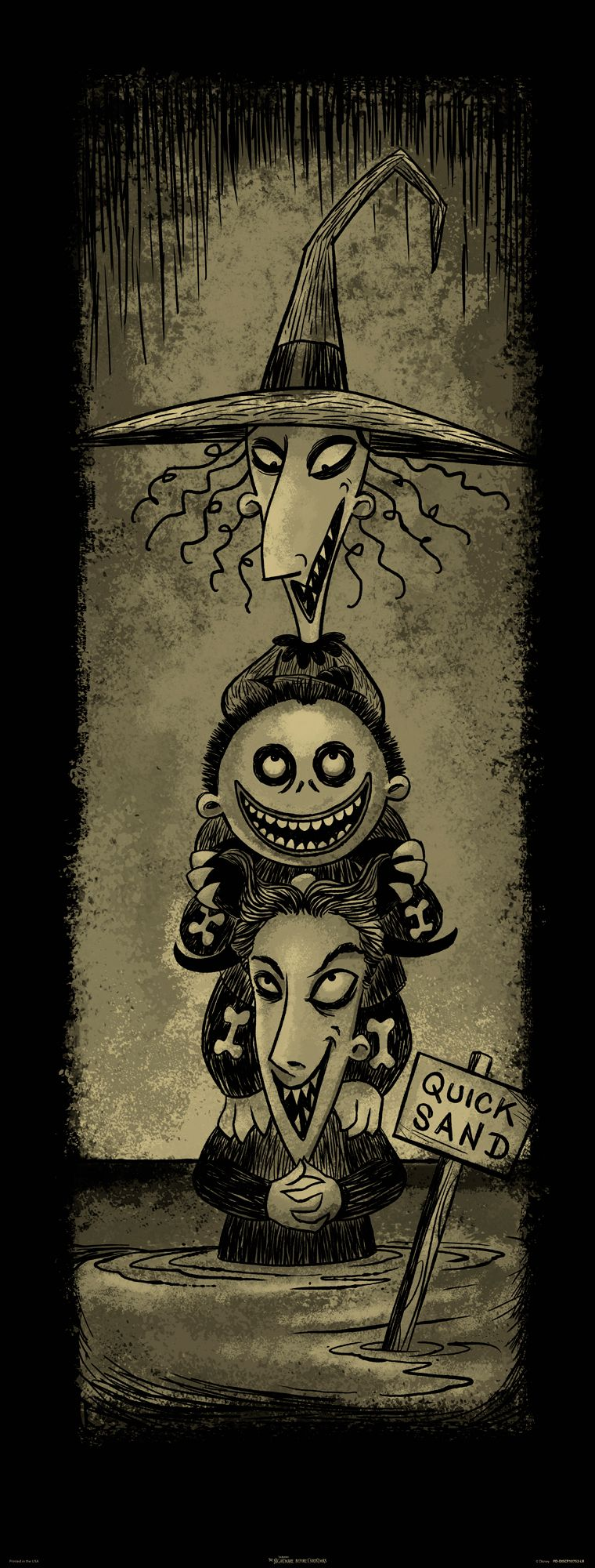 Here S An Exclusive To The New Nightmare Before Chri Nightmare Before Christmas Tattoo Nightmare Before Christmas Drawings Nightmare Before Christmas Wallpaper