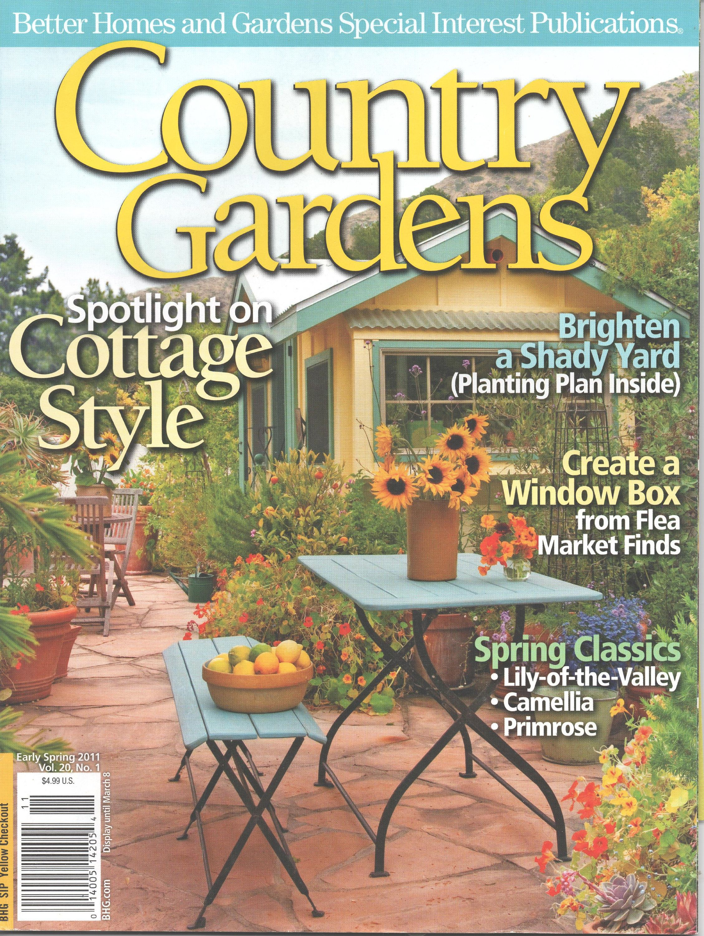 Country Gardens Magazine Early Spring 2011 Better Homes And