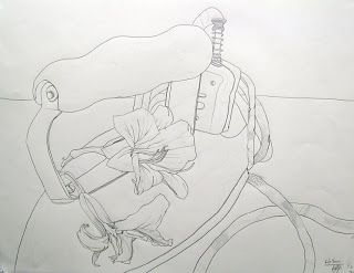 Contour Line Drawing In Art : Contour line drawing nature google search