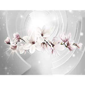 Fototapete Blumen Magnolien Vlies Wand Tapete Wohnzimmer