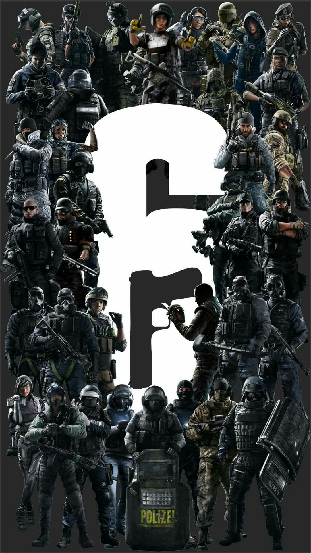R6 Siege Operators In 2020 With Images Rainbow Wallpaper