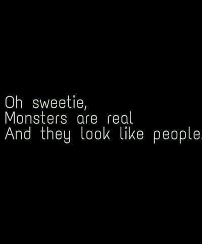 monster, quote, and people image