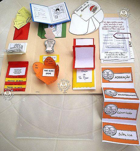 Lapbook Com Os Minik-books Abertos