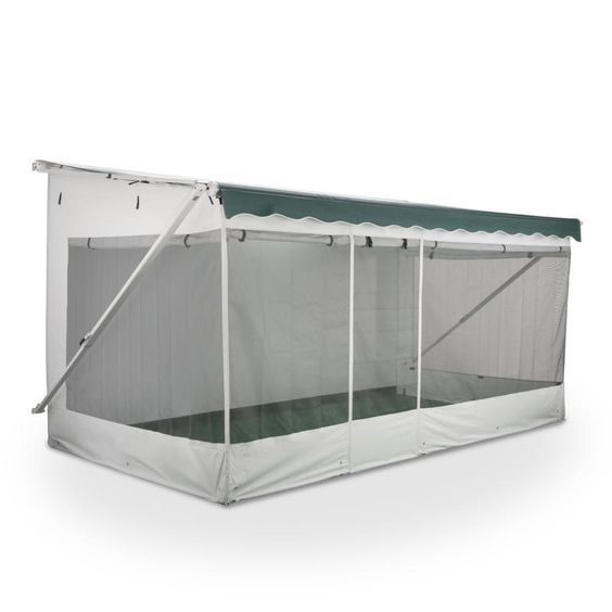 Turn your RV awning into a comfortable screened-in ...