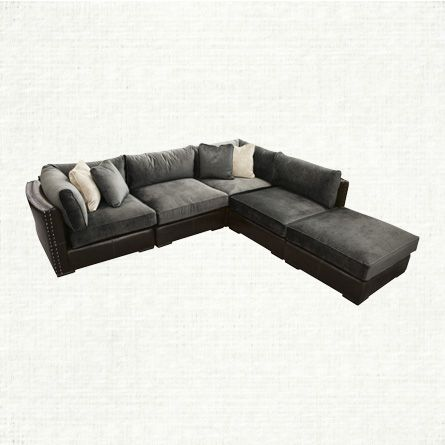 View the Truffle 5 Piece Sectional from Arhaus. Pairing the rugged richness of genuine Italian : arhaus garner sectional - Sectionals, Sofas & Couches