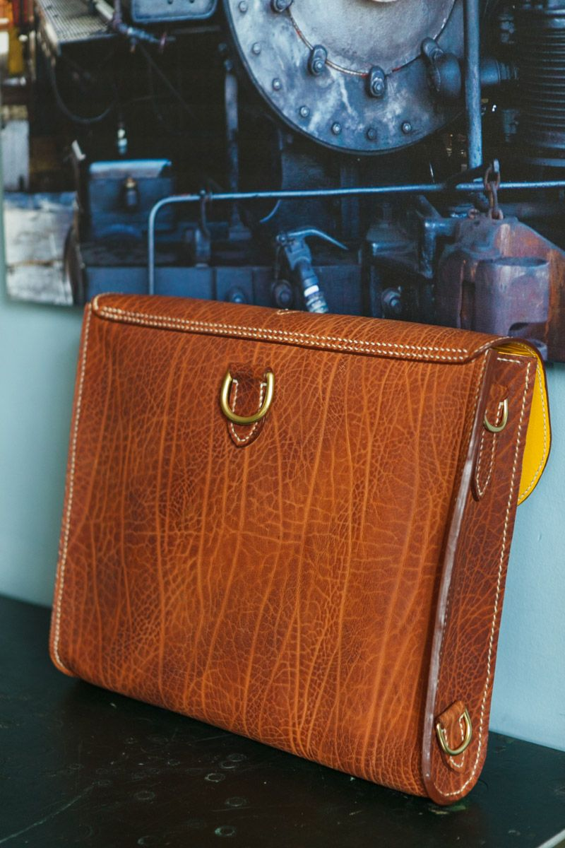 Horween apache custom knapsack, 3 – final – Jacobson Leather in ...