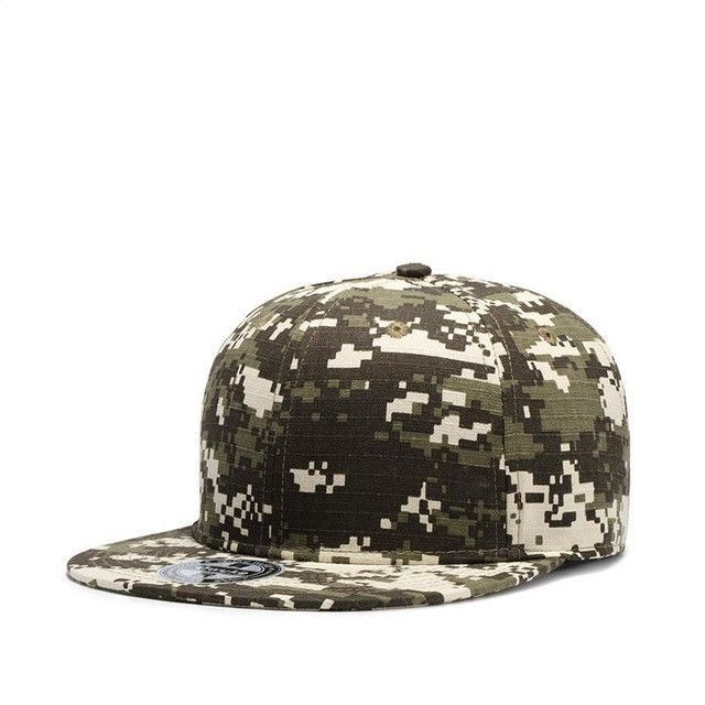 26698cb55f2 3 Style Snapback Camouflage Tactical Hat Army Tactical Baseball Cap Unisex  ACU CP Desert Cobra Camo Camouflage Hats 2017 new