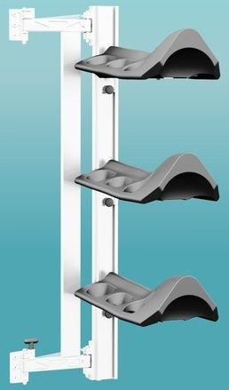 Swing Out Saddle Rack System For Your Trailer Horse
