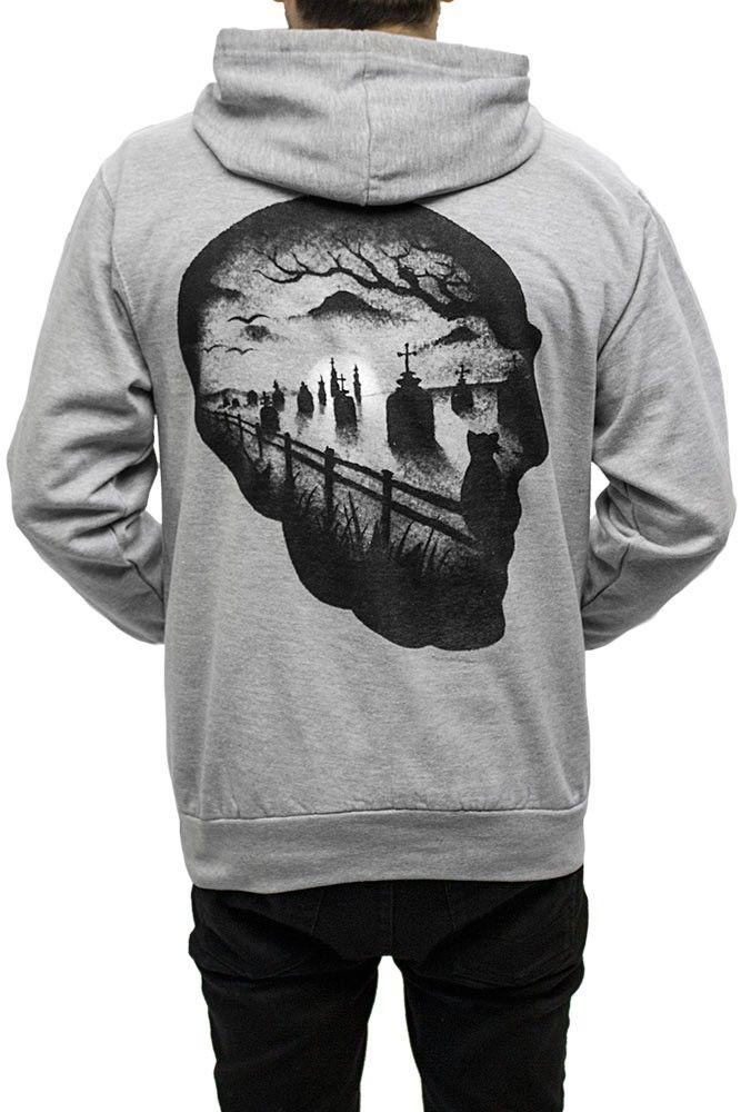 •InkAddict men's pullover hoodie