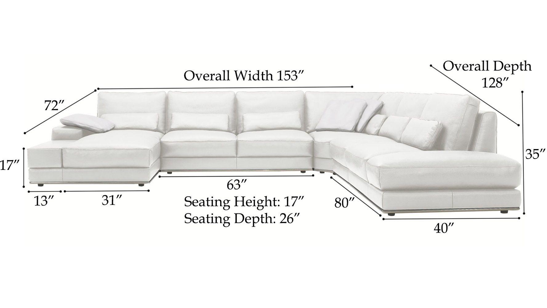 Understanding Sectional Sofa Measurements In 2019