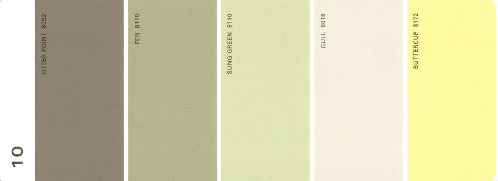 Martha Stewart Paint 5 Color Palette Card 10 Martha Stewart Paint .