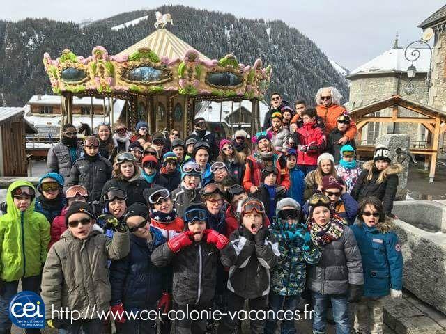 Les jeunes du CEI super content d'être au Ski !!  #Jeunes #Smile #CEI #Vacances