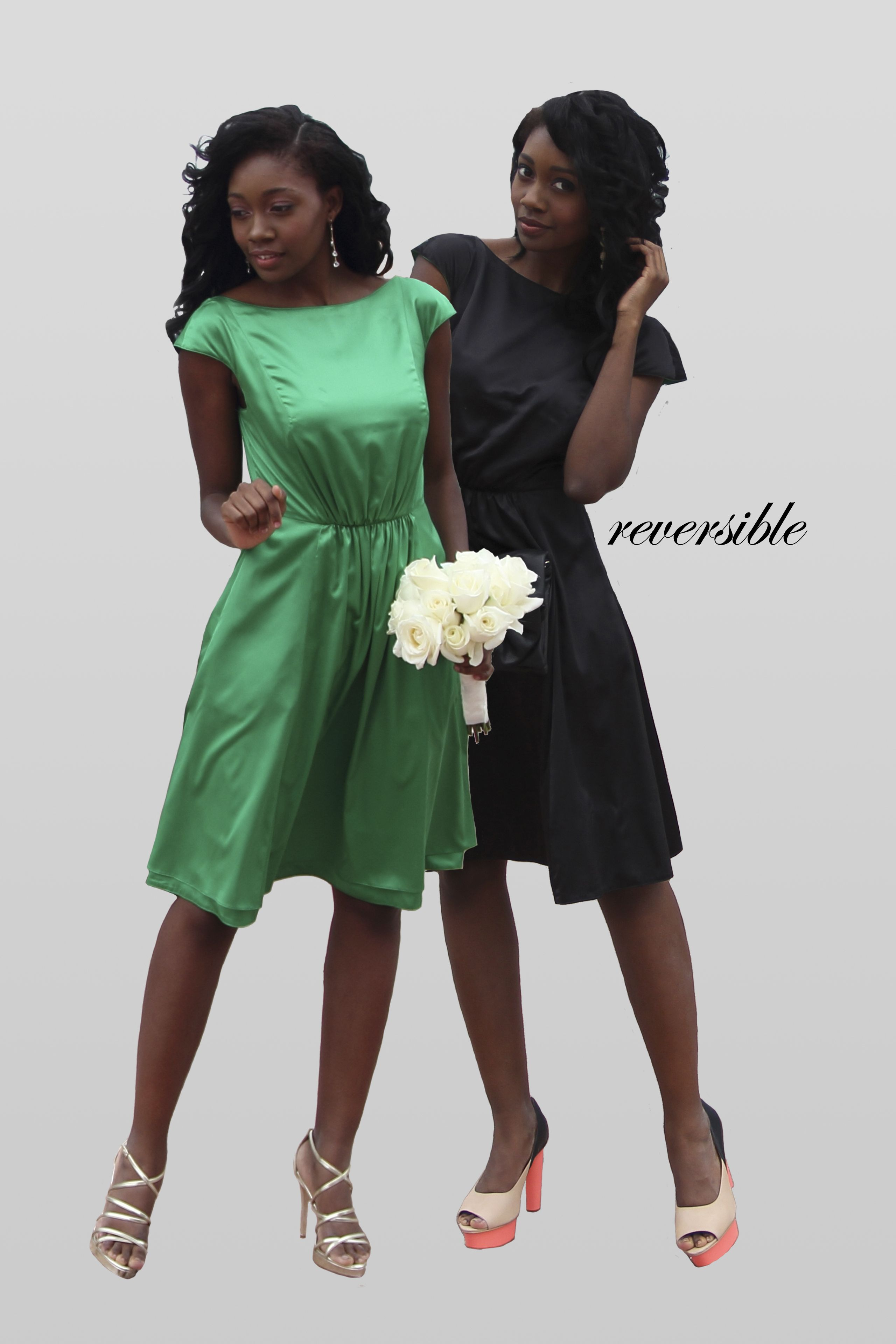 Ruched front cap sleeve reversible bridesmaid dress wedding ruched front cap sleeve reversible bridesmaid dress wedding ombrellifo Images