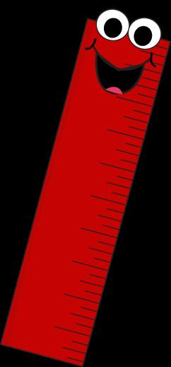 red cartoon ruler clip art red cartoon ruler vector image school rh pinterest com clip art roller skates free clip art roller coaster
