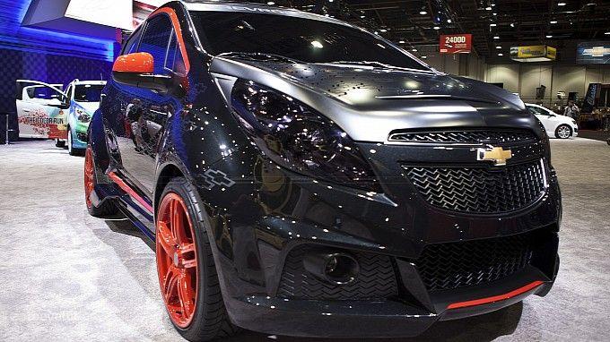 2012 Sema Chevrolet Spark Sinister Concept Xe O To O To
