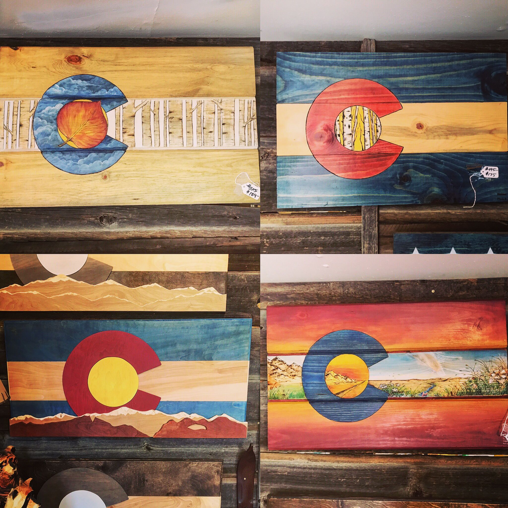 Beautiful Colorado Wall art. Beetlekill barnwood stained wood wood burned art and  sc 1 st  Pinterest & Beautiful Colorado Wall art. Beetlekill barnwood stained wood ...