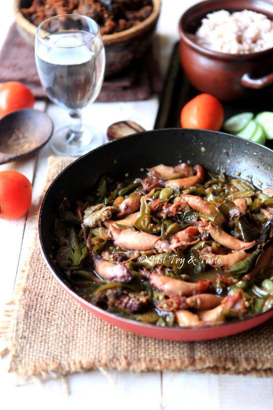 Resep Tumis Cumi Cumi Asin Cabai Hijau Jtt Resep Masakan Asia Resep Masakan Malaysia Tumis