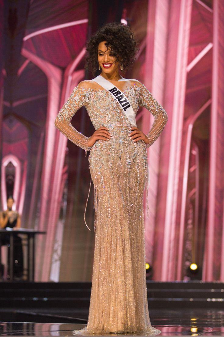 78fe77f20 Los trajes de gala de las concursantes latinas de Miss Universo ...