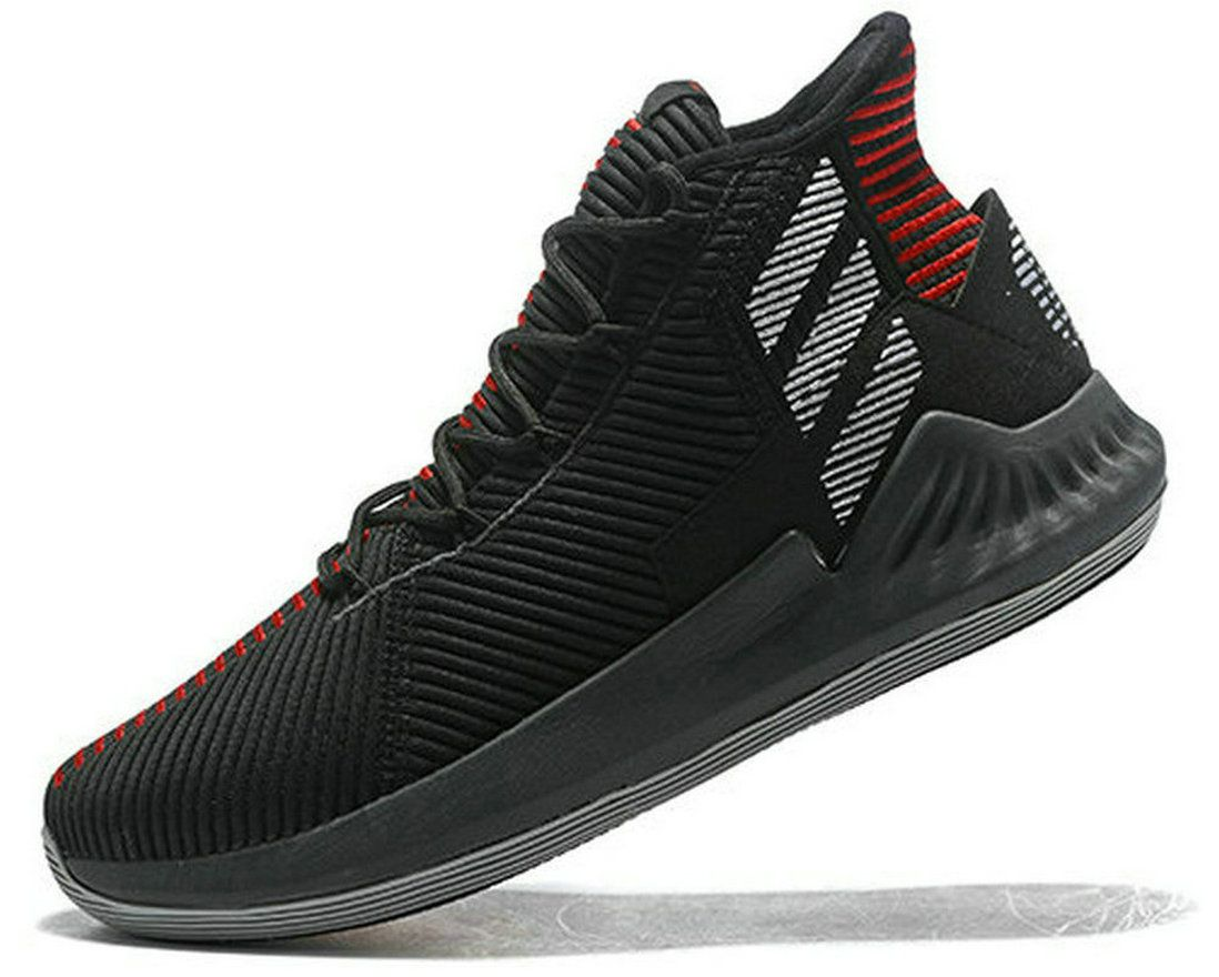 dbf6cd5126c Latest adidas D Rose 9 Black Red