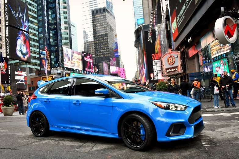 Giant Killers The Hottest Small Cars Ford Focus Rs Ford Focus Hatchback Small Cars