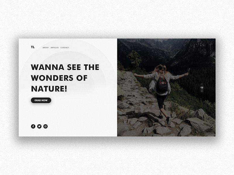 Do u wanna create a minimalist, stunning Landing page
