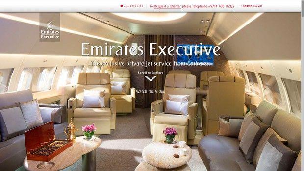 Emirates lanza Emirates Executive, para cuando la primera clase se te hace poco
