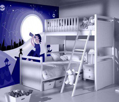 Decoracion Diseño Habitaciones empapeladas juveniles - Decoración - diseo de habitaciones para nios