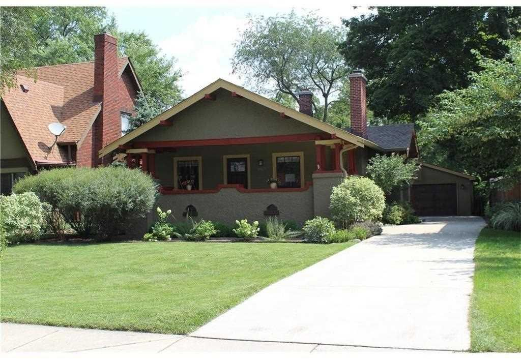 Home for sale at 5027 n capitol avenue indianapolis in