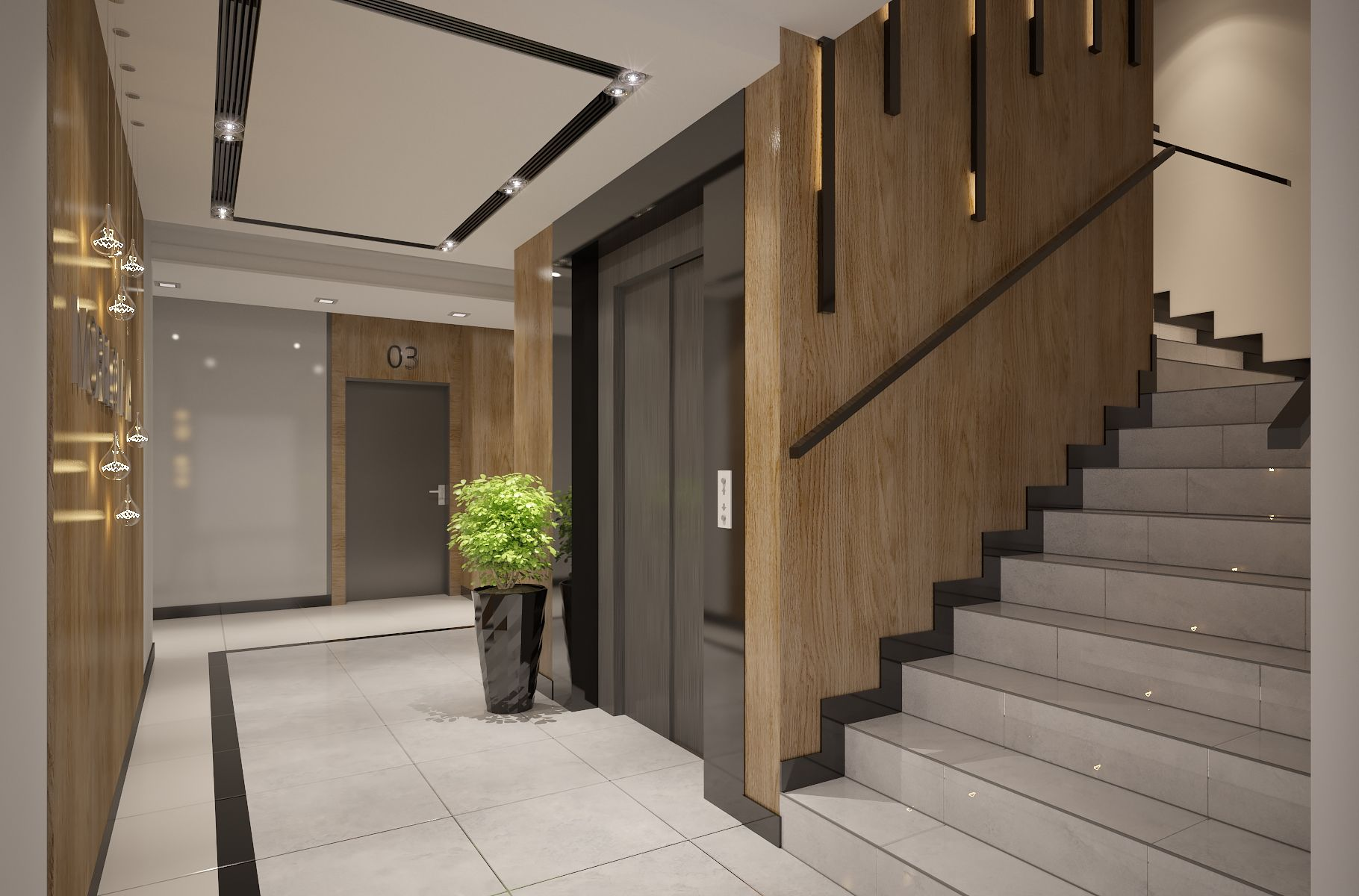 Best Related Image Apartment Entrance Staircase Interior 400 x 300