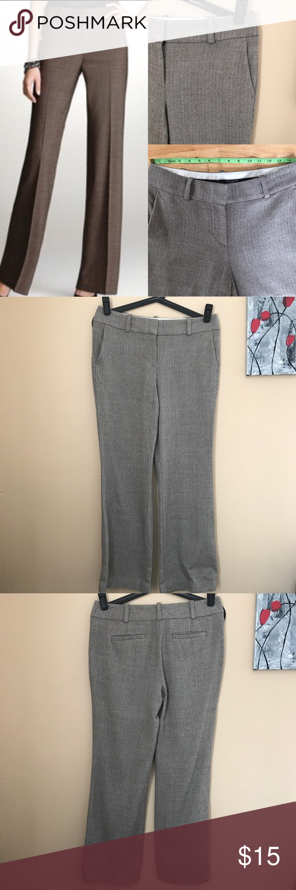 Light Brown dress pants Straight leg fit. Good condition. Clean and ready to wear. I offer bundle discounts. Thanks for stopping by 🤗 Ann Taylor Pants Straight Leg