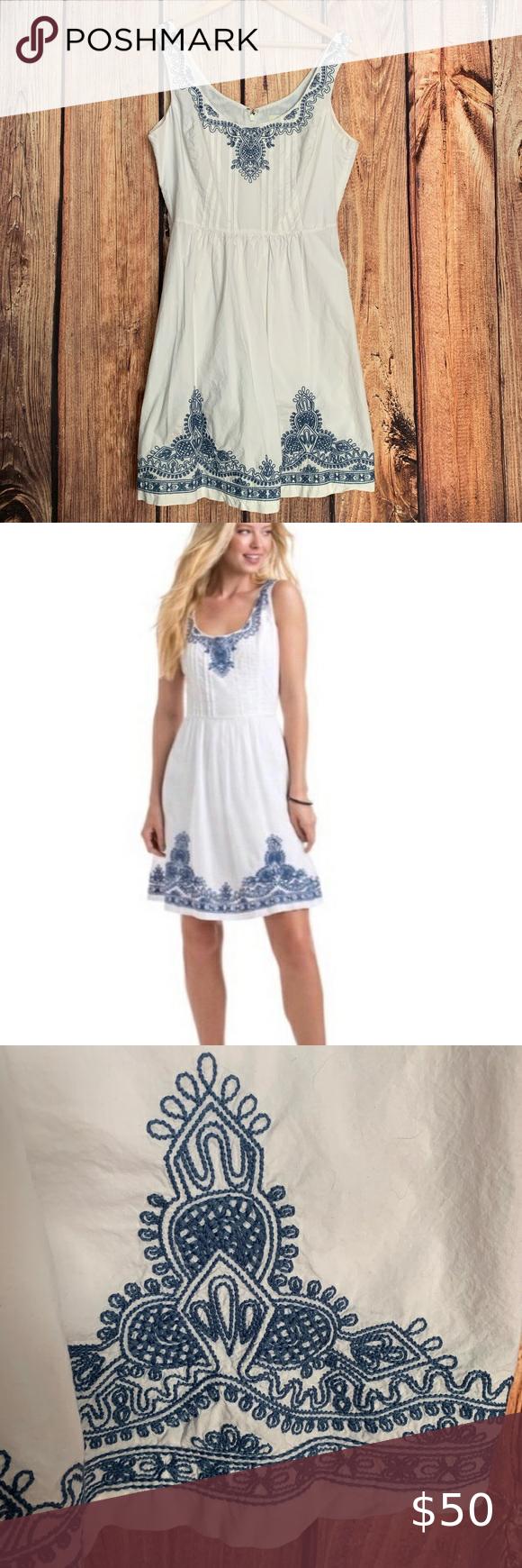 Vineyard Vines 100 Cotton Dress With Embroidery Dresses Cotton Dresses Fashion [ 1740 x 580 Pixel ]