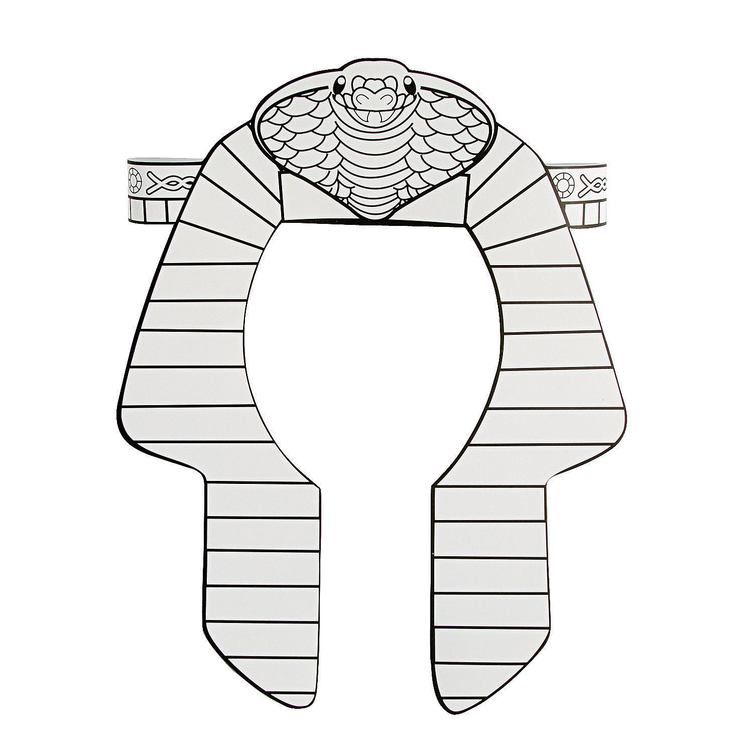 Color Your Own Pharaoh Headbands Orientaltrading