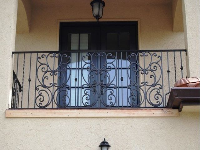 Wrought Iron Balcony Railings Front Porch Patio