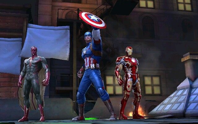 marvel future fight ironman captain america vision things i love