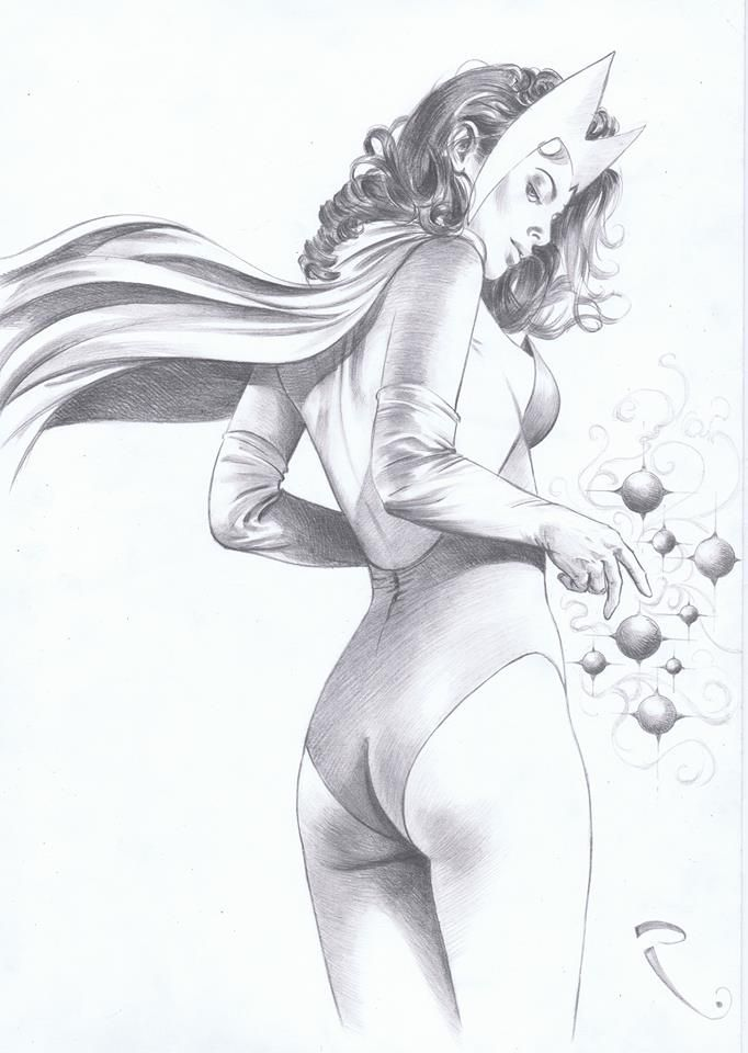 Scarlet Witch Appreciation - Page 56 | LineArt: Scarlet Witch ...