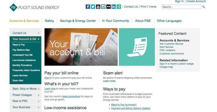 PSE Bill Pay Online, Login, Customer Service & SignIn