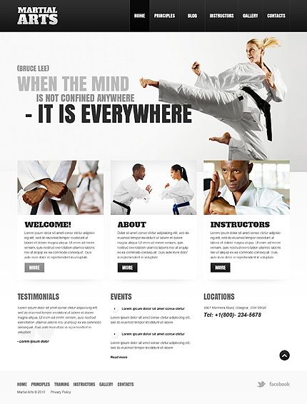 43186 Wp B Wordpress Template Theme Mobile Web Design Website