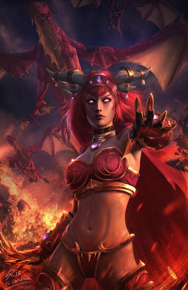 Alexstrasza the Life-Binder - World of Warcraft   raikoart on ...