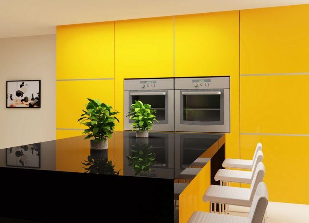 Marvelous Yellow Black And White Kitchen Ideas Part - 4: Yellow Black And White Kitchen Ideas