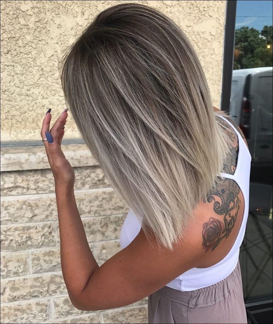 Balayage Hair Long Bob für 11  Frisur Trend  Frisuren Frauen