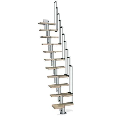 Karina Grey Stair Kit 1 Ft 10 1 2 Wide At Menards Stair Kits
