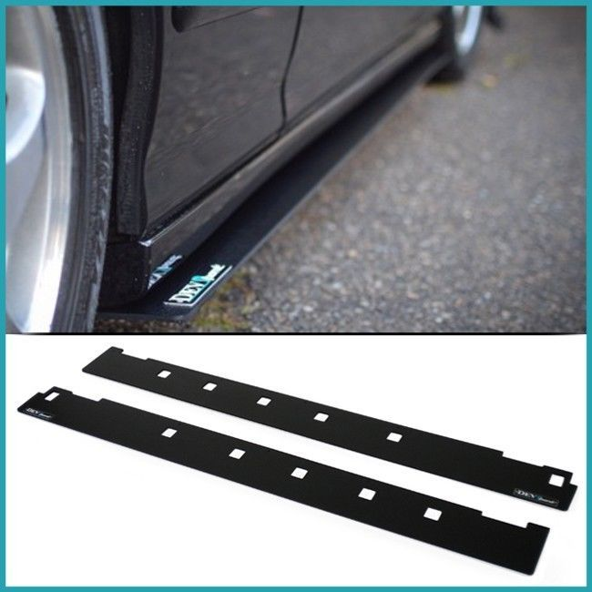 Devsport Side Skirt Splitters Are Made From 100 Real Abs Plastic Abs Is Chosen Due To Its High Rigidity Impact Resistance And Acura Integra Acura Splitters