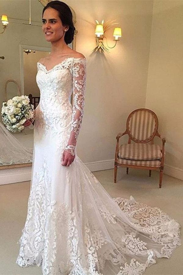 6d28546ba7 Hot Sale Comfortable Wedding Dresses Lace