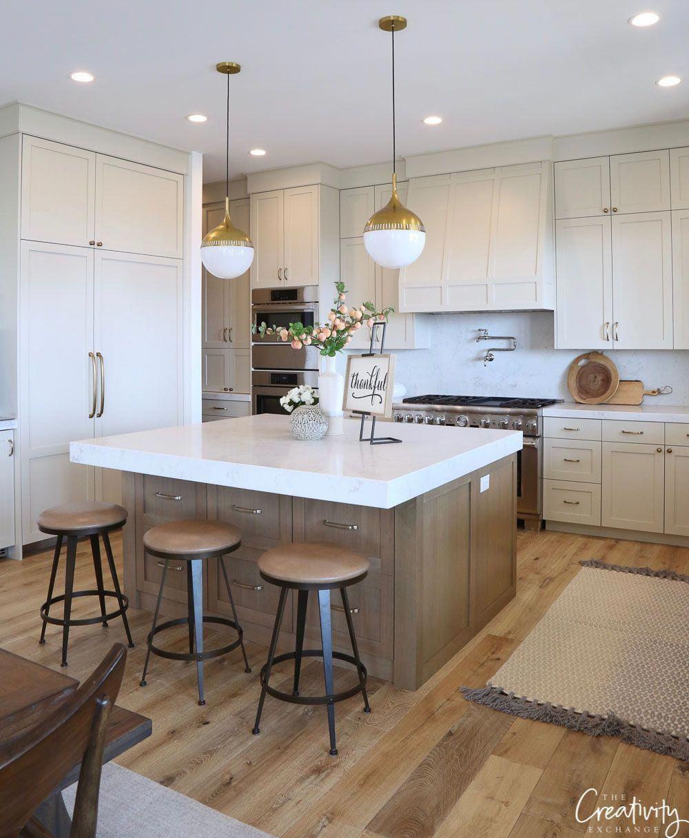Modern Farmhouse Kitchen Farmhousekitchenlighting Home Sweet